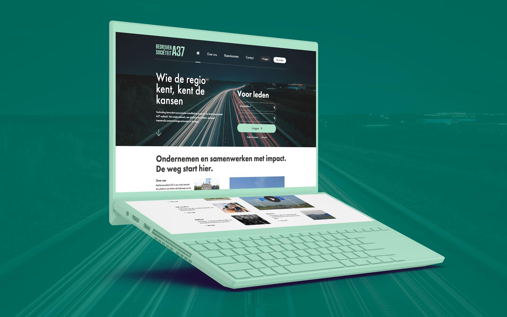 Bedrijvensocieteit A37 - Website