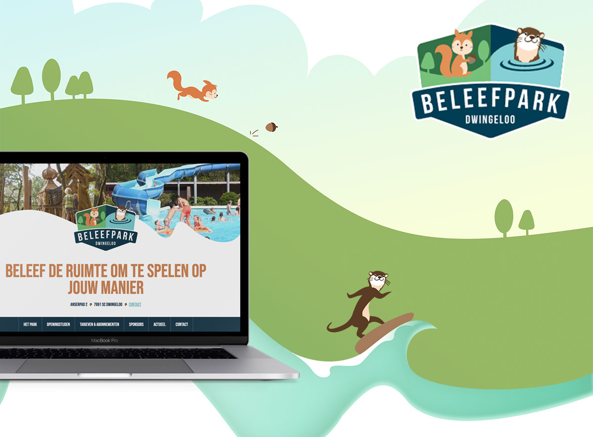Beleefpark Dwingeloo - Website
