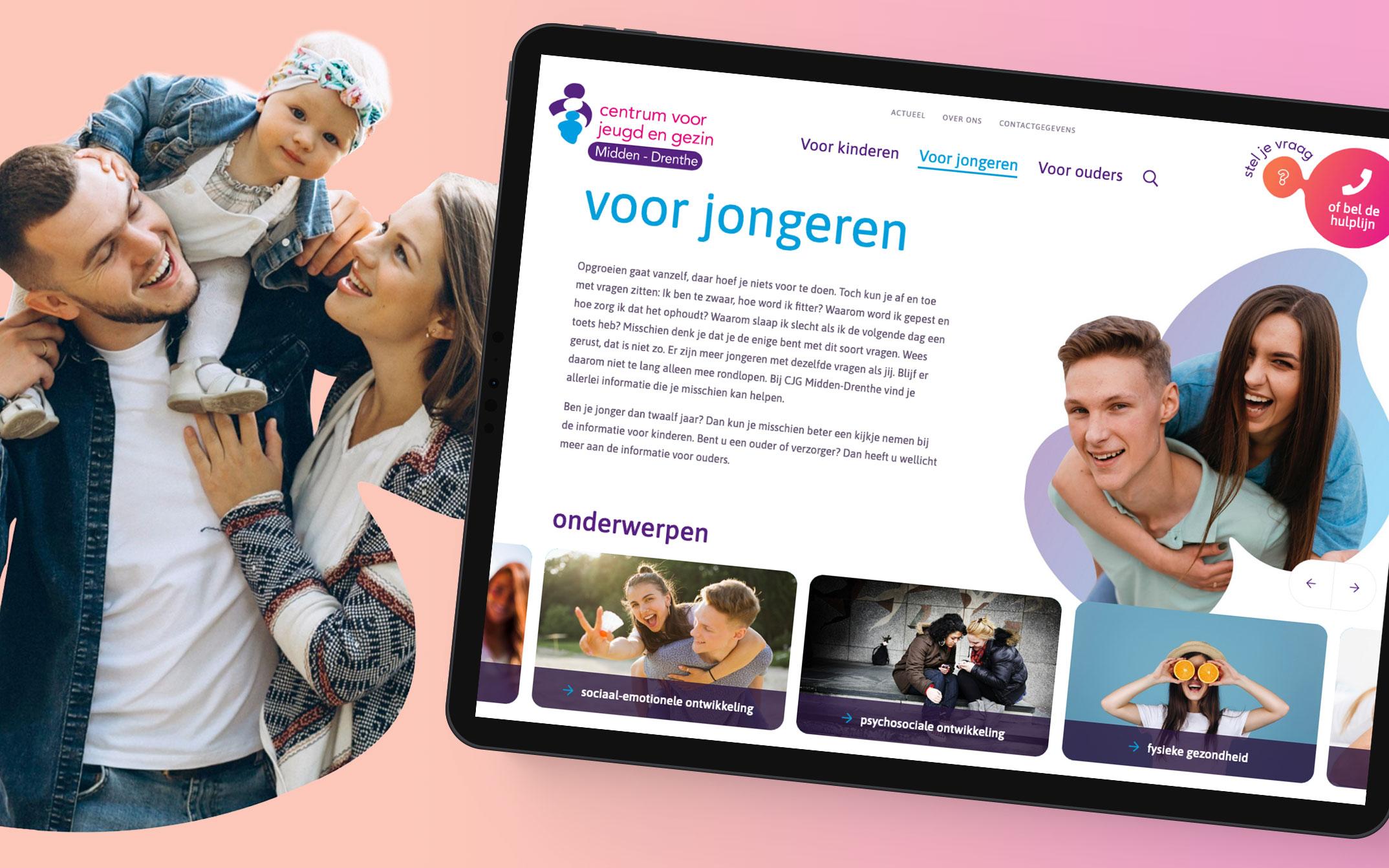 Centrum voor jeugd en gezin - Midden Drenthe
