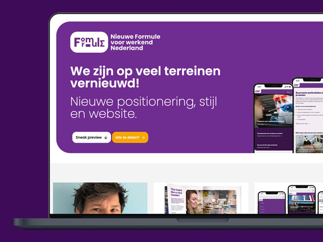 Nieuwe formule voor werkend Nederland