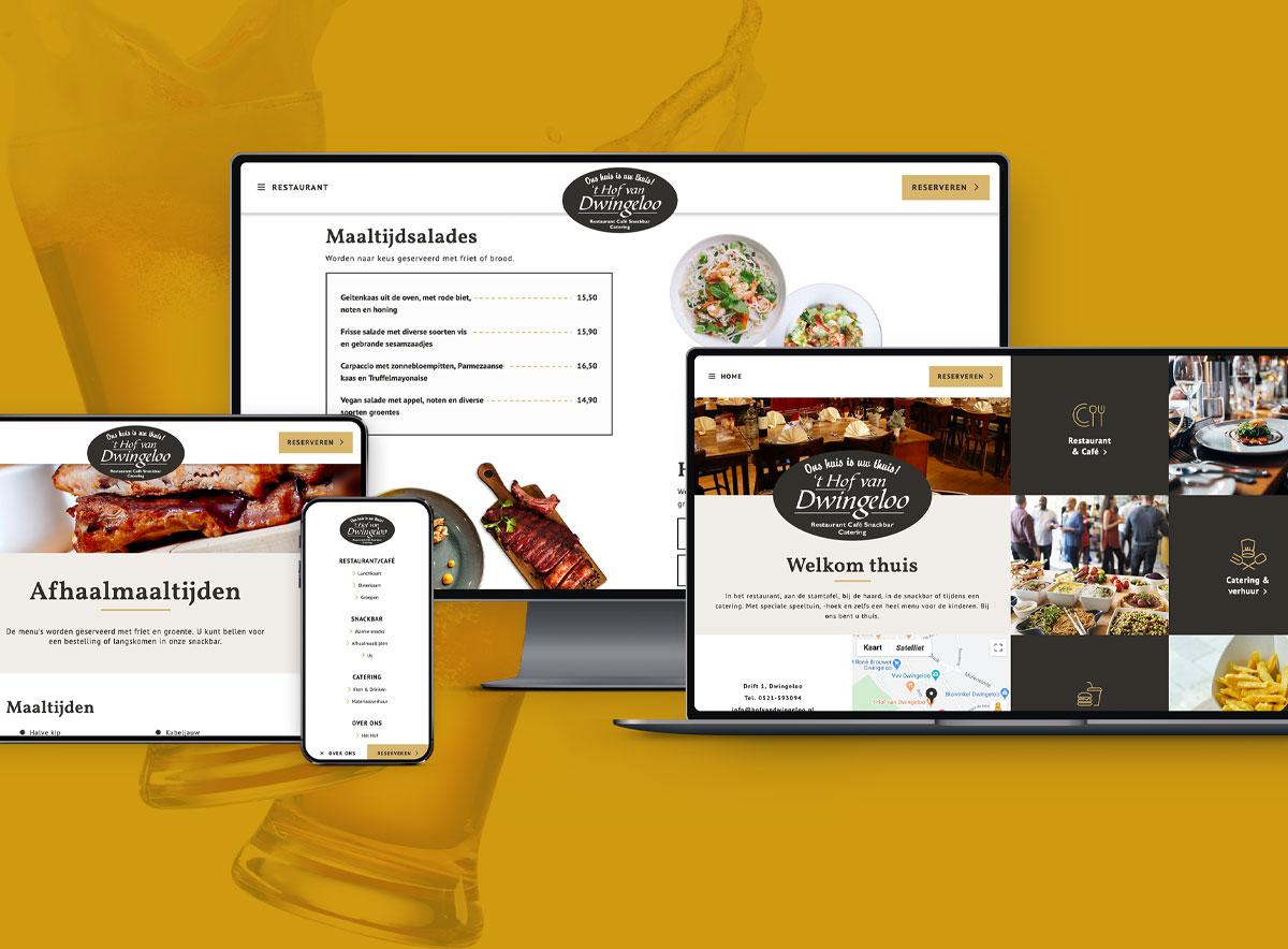 Hof van Dwingeloo - Website