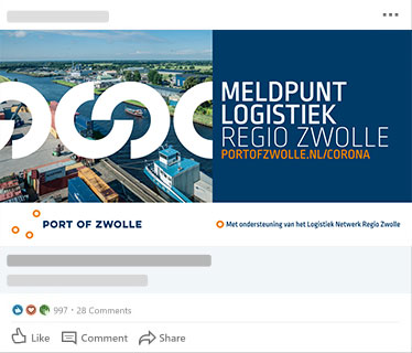 Port of Zwolle - Social Media Campagne