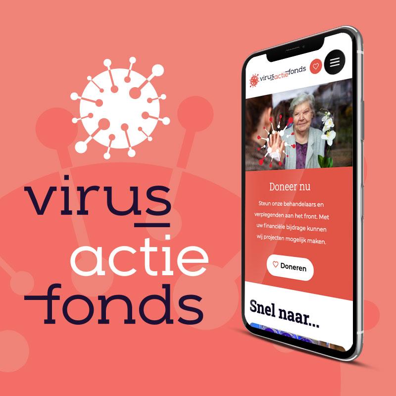 Stichting Virus Actie Fonds - Website