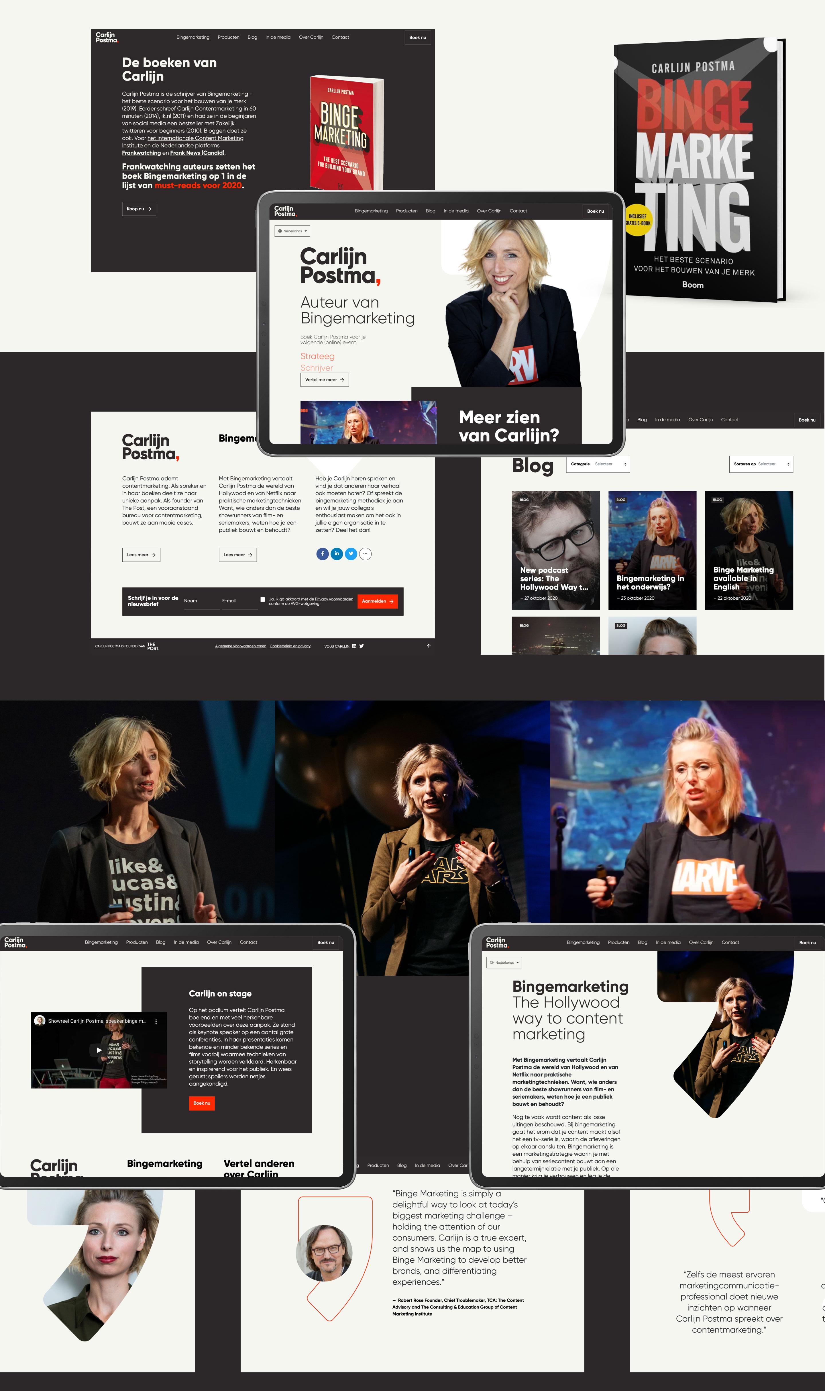 Carlijn Postma - Website