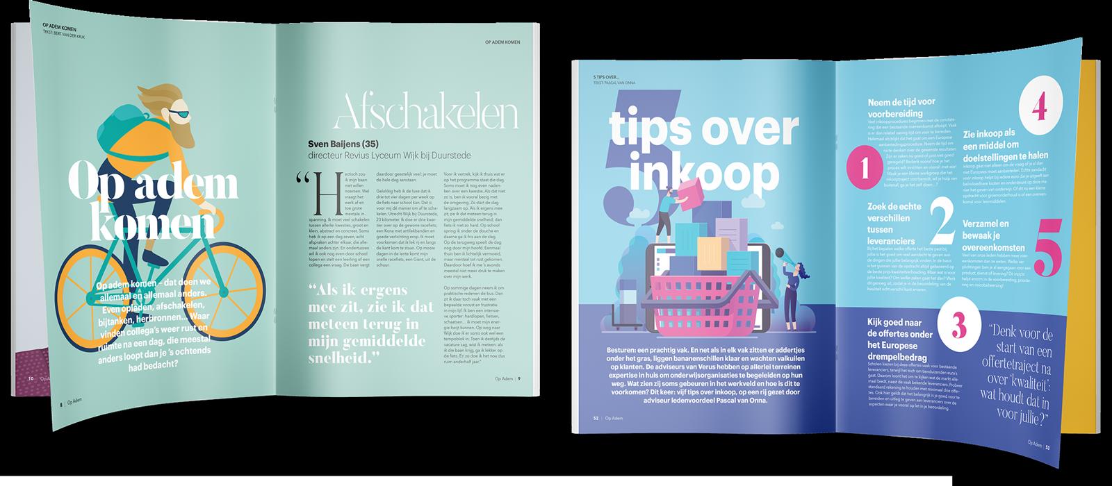 Verus - Magazine pagina's