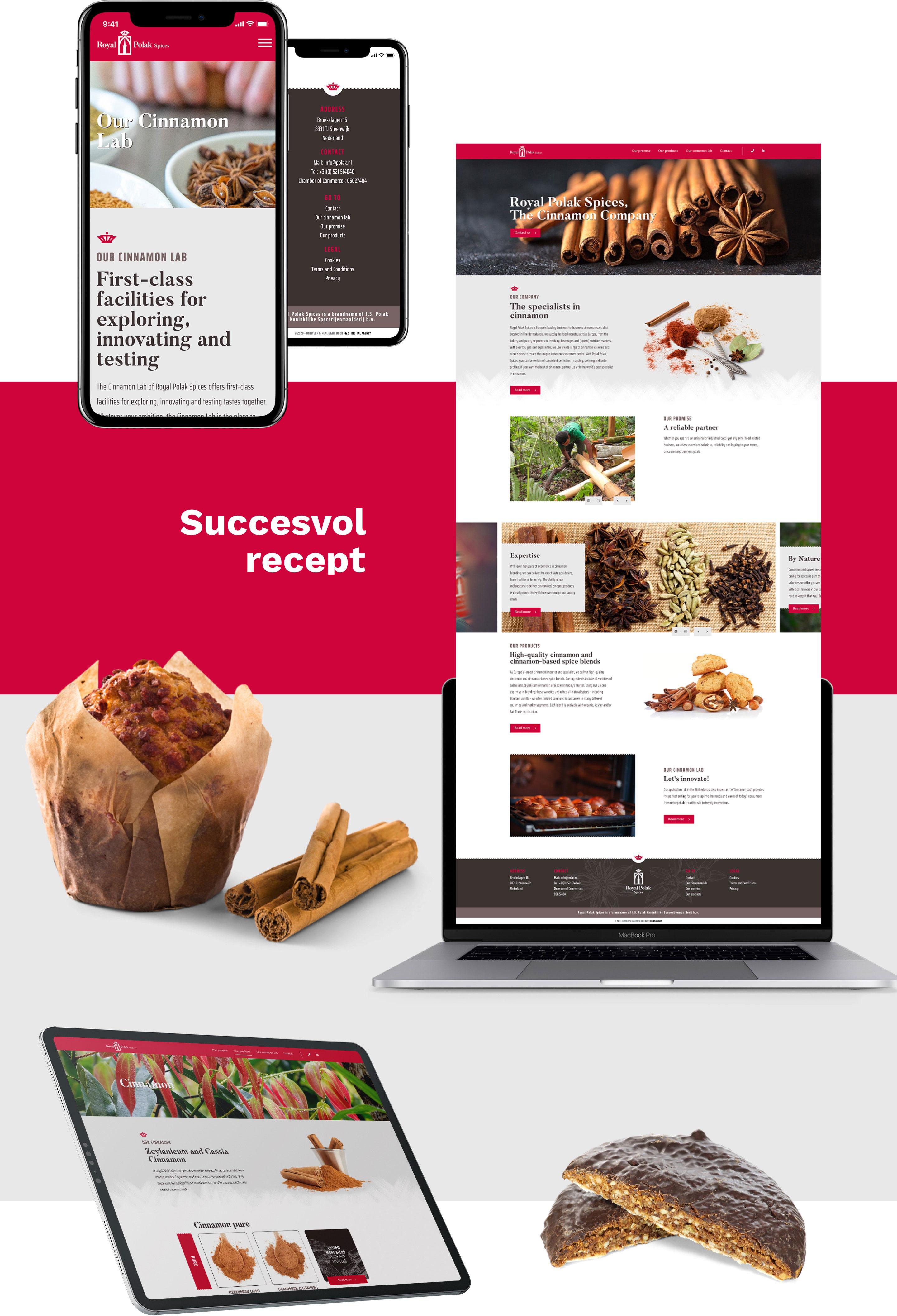 Royal Polak - Website