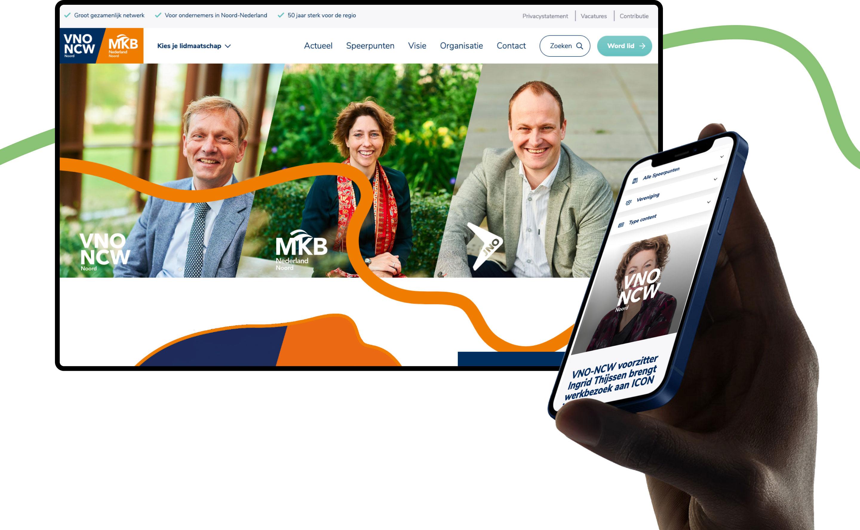 VNO-NCW MKB Noord - Website