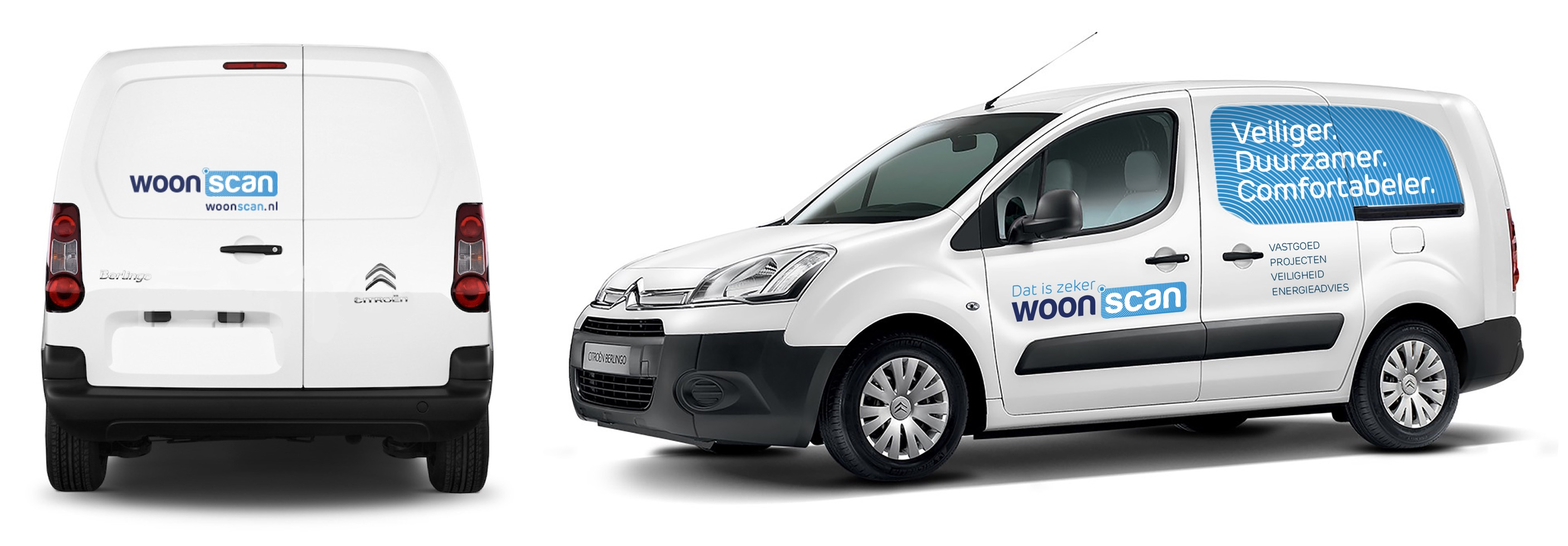 Woonscan - Auto belettering