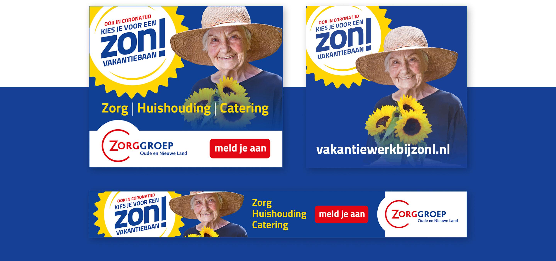 Zorggroep Oude en Nieuwe Land - Banners